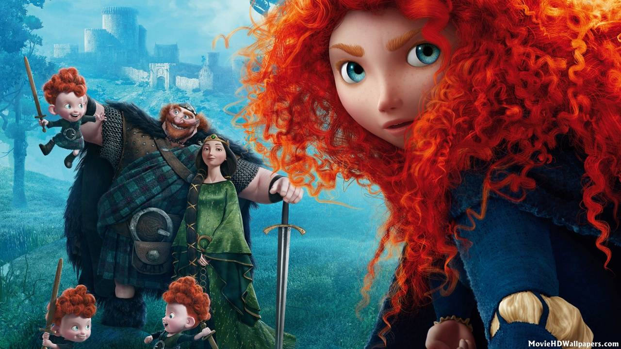 Brave (2012) - Movie HD Wallpapers2012 Movie Wallpaper