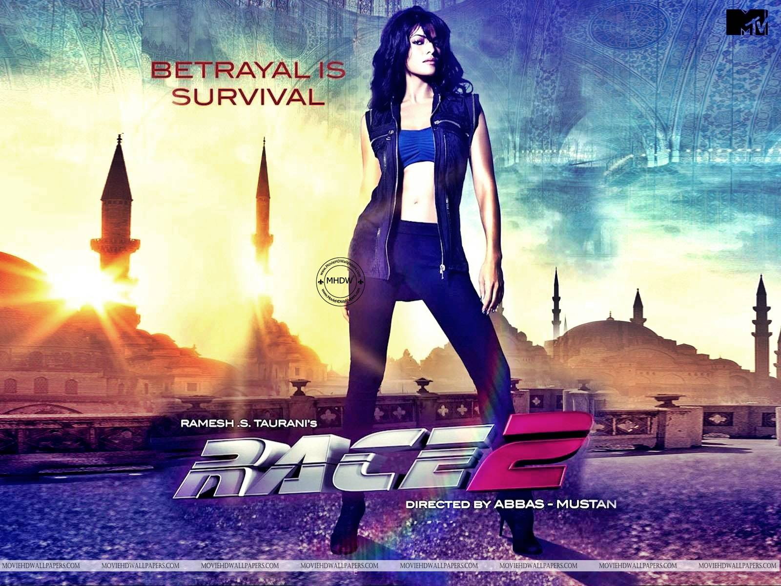 Jacqueline Fernandez in Race 2  Race 2 Wallpapers Hd