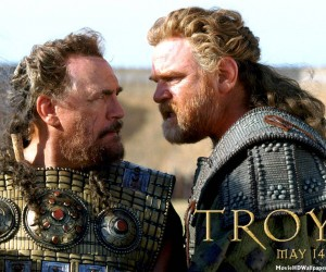 Menelaus and Agamemnon - Troy Wallpaper