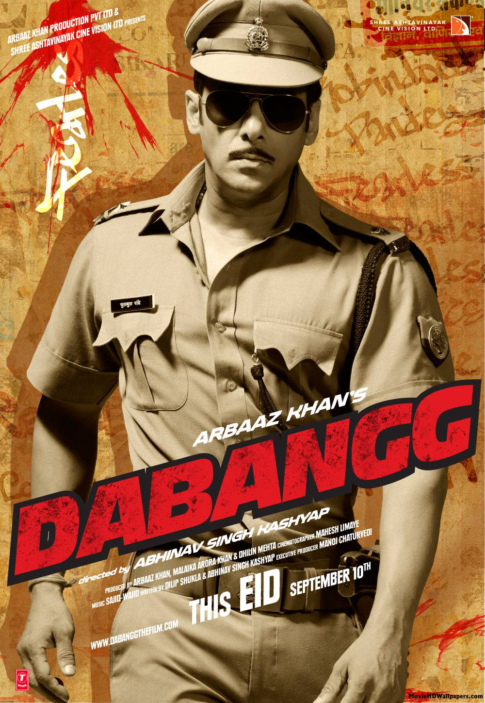 Dabangg (2010) - Movie HD Wallpapers Dabangg