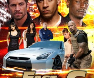 Fast And Furious 6 Poster 300x250 Fast And Furious 6 (2013)