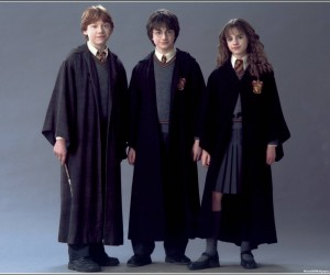 Harry Potter and the Chamber of Secrets Harry Ron Hermione