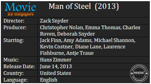 Man of Steel 2013 Cast Man of Steel (2013)