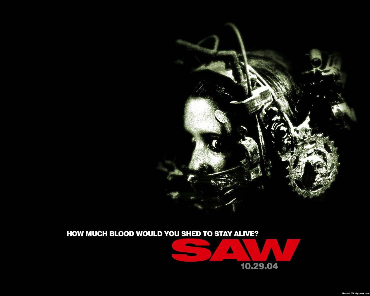 Image result for saw 2004 poster