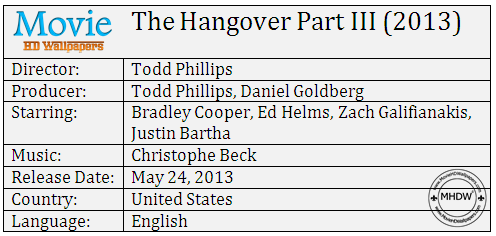The Hangover Part III (2013) Cast