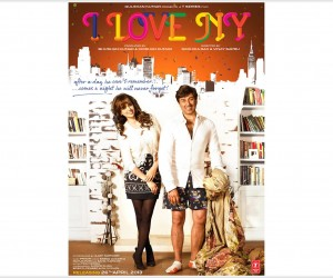I Love New Year (2013) White Background Poster