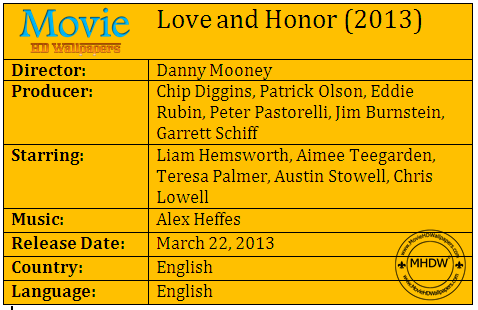 Love and Honor (2013)