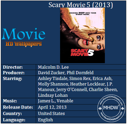 Scary Movie 5 2013 Cast Scary Movie 5 (2013)