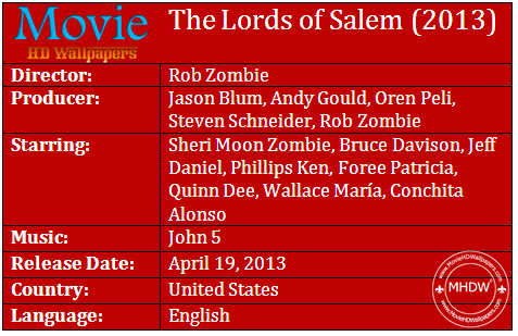 The Lords of Salem 2013 Cast The Lords of Salem (2013)