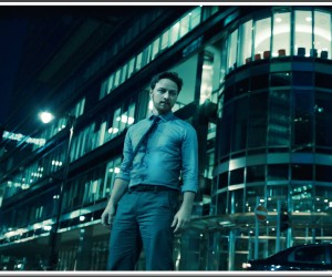 Max Lewinsky (JAMES McAVOY) in WELCOME TO THE PUNCH
