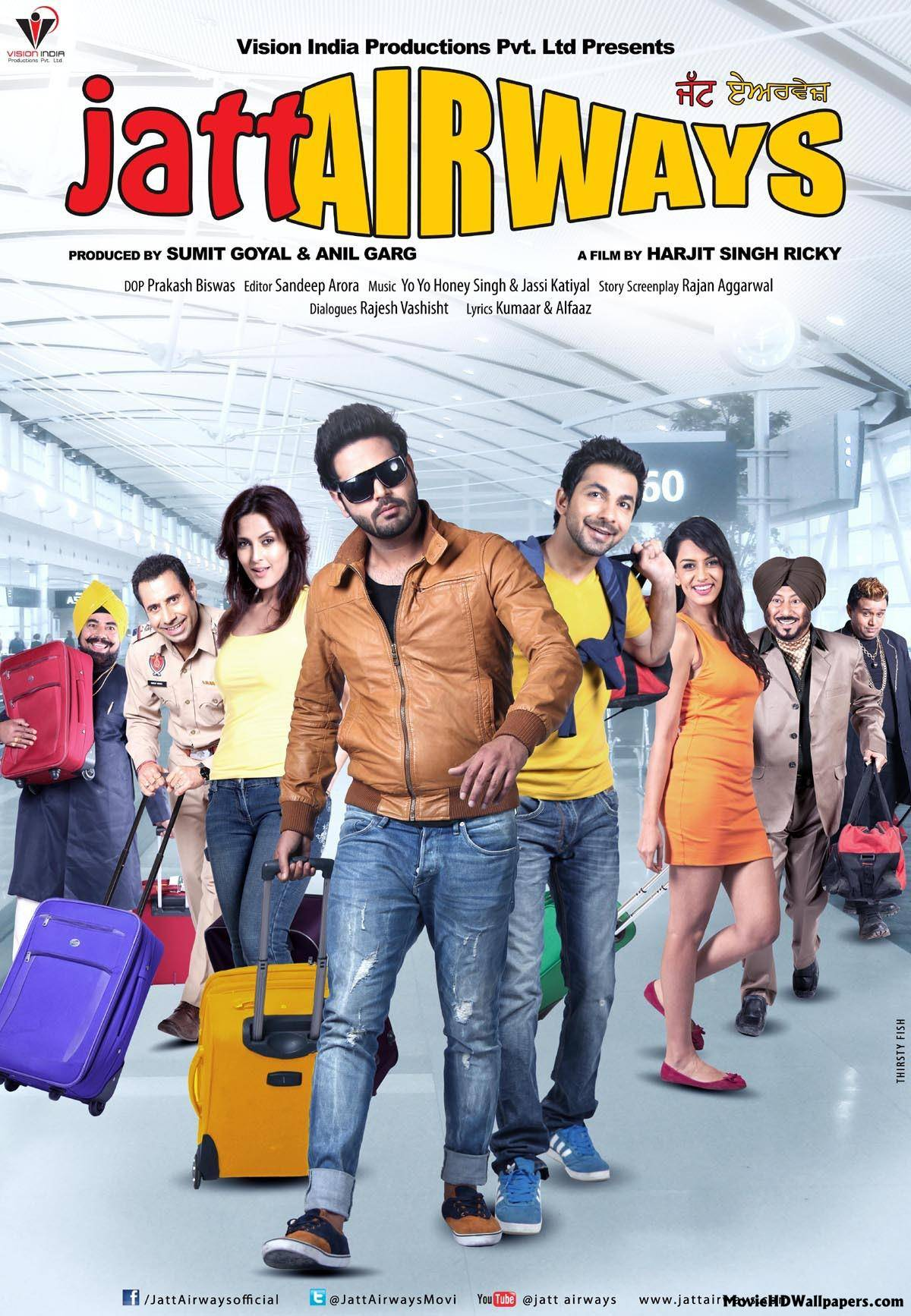 Wallpaper download jat - 1080x1920 Jatt Airways 2013 Movie Hd Wallpapers