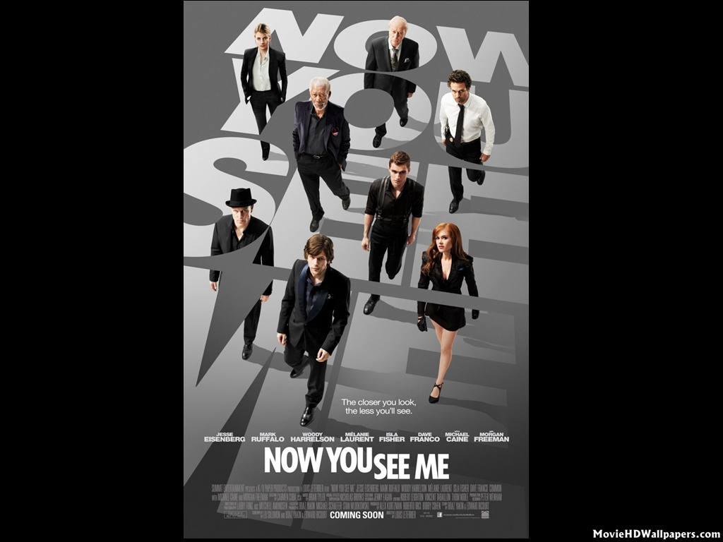 Now You See Me 2013 Movie Hd Wallpapers
