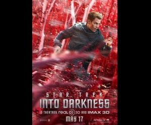 Star Trek Into Darkness Red Posters