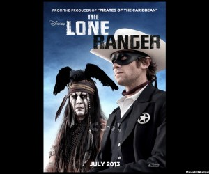 The Lone Ranger (2013) HD Poster
