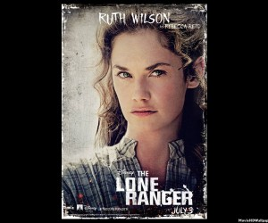 The Lone Ranger (2013) as Ruth Wilson