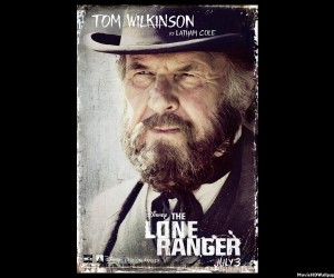 The Lone Ranger 2013 as Tom Wilkinson 300x250 The Lone Ranger (2013)