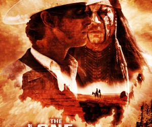 The Lone Ranger HD Movie Posters 300x250 The Lone Ranger (2013)