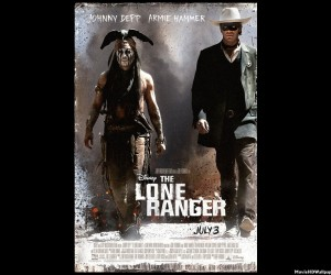 The Lone Ranger - Jonny Depp and Armie Hammer