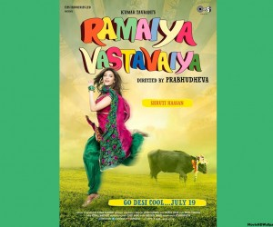 Ramaiya Vastavaiya (2013) Movie HD Wallpaper