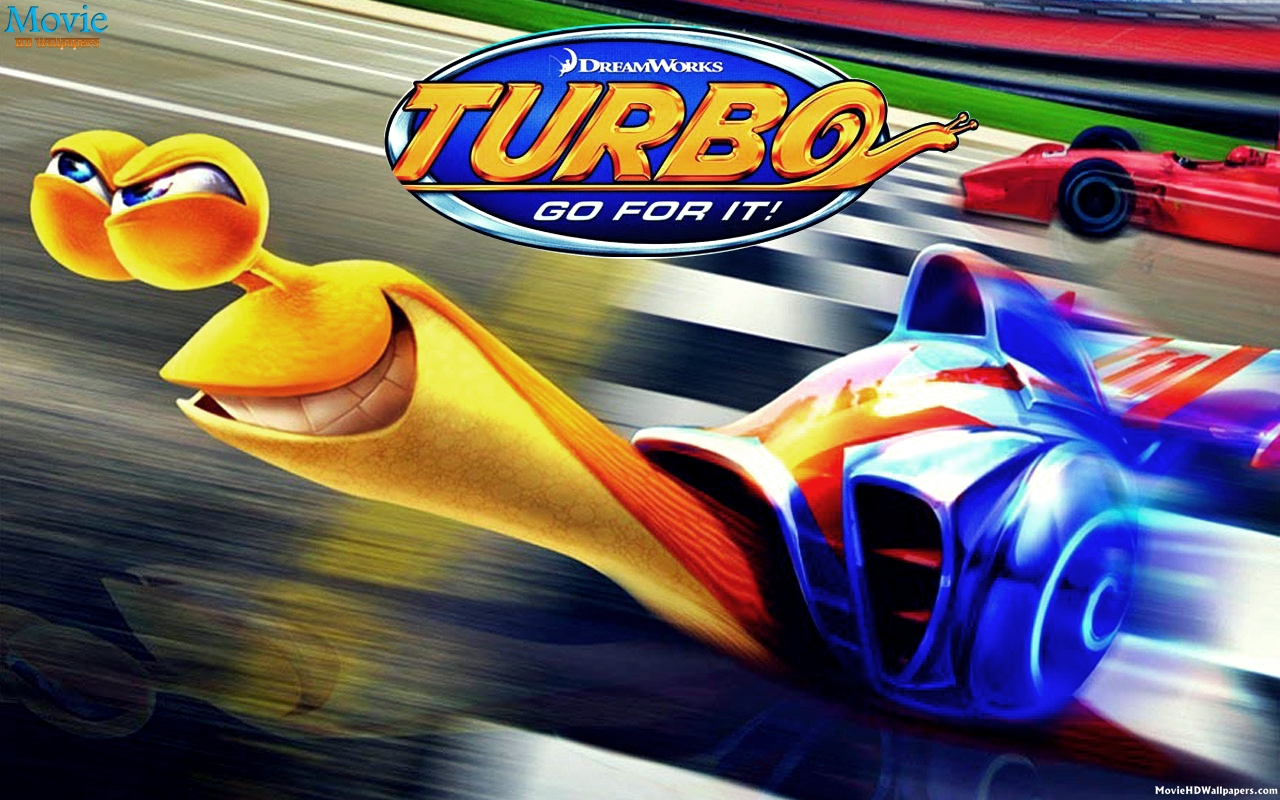 Turbo (2013) Snail - Movie HD Wallpapers