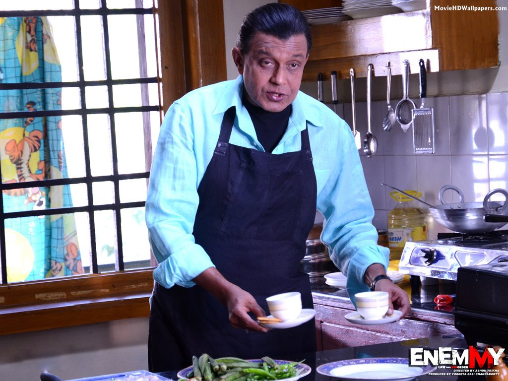 Mithun Chakraborty in Enemmy