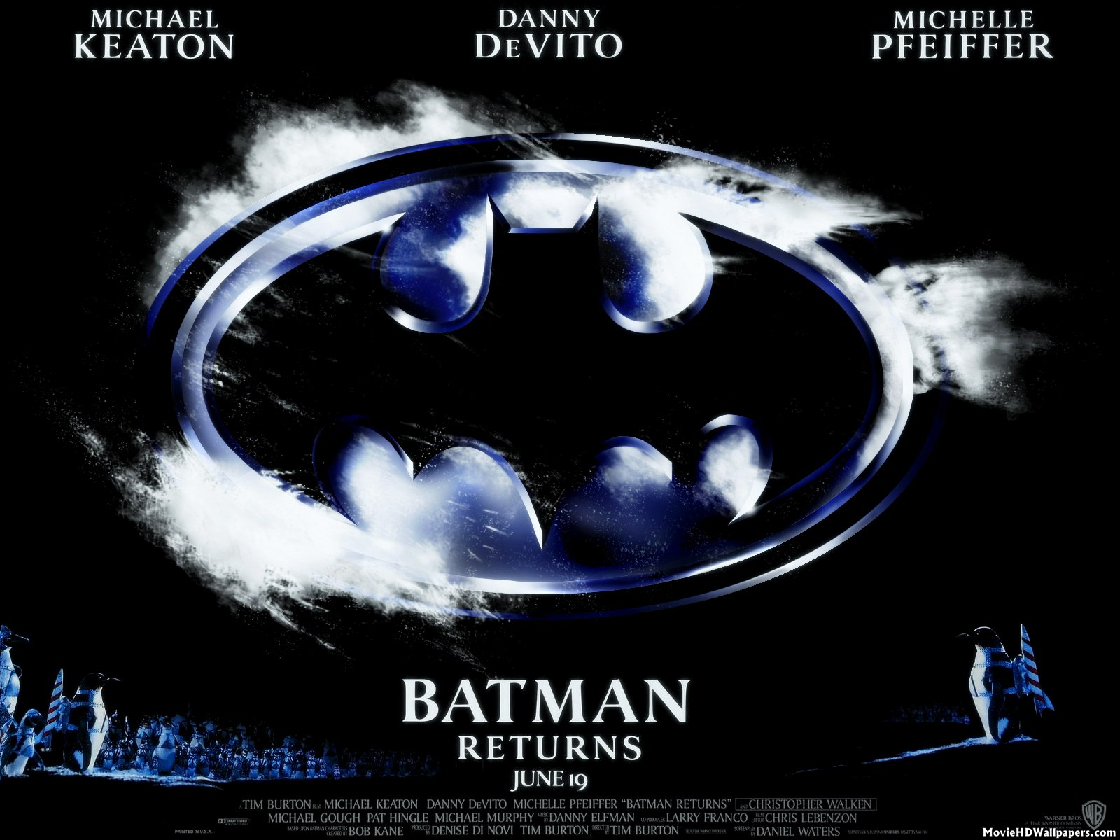 Batman Returns (1992) Poster | Movie HD Wallpapers Pacific Rim 2013 Dvd Cover