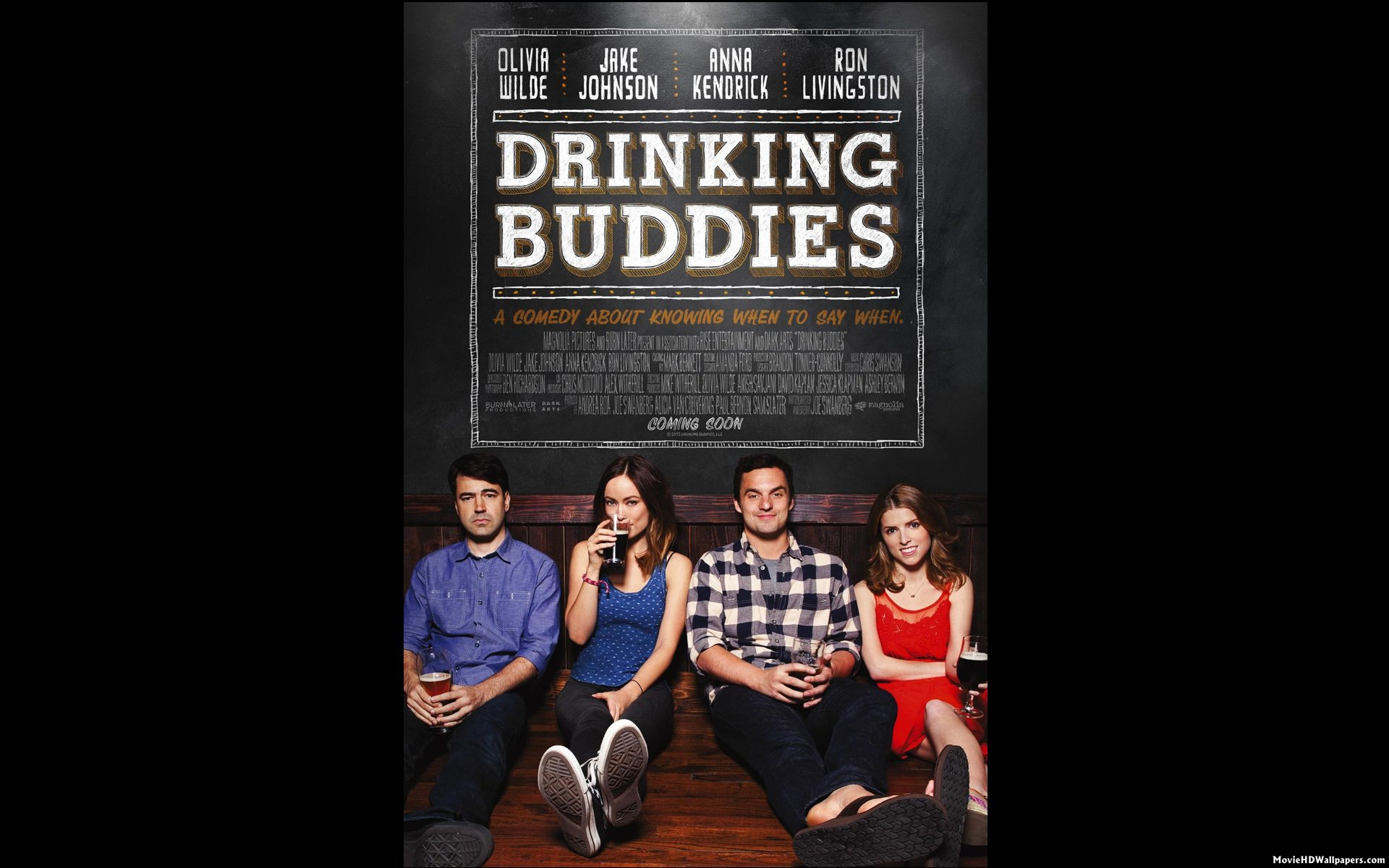 Drinking Buddies (2013) HD Poster | Movie HD Wallpapers