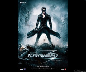 Krrish 3 2013 Poster 300x250 Krrish 3 (2013) Wallpapers