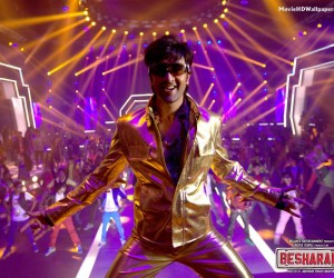 Besharam 2013 Hindi Movie Wallpaper 300x250 Besharam