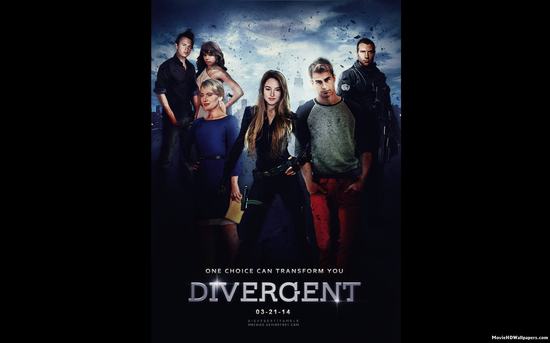 Divergent 2014 Poster HD