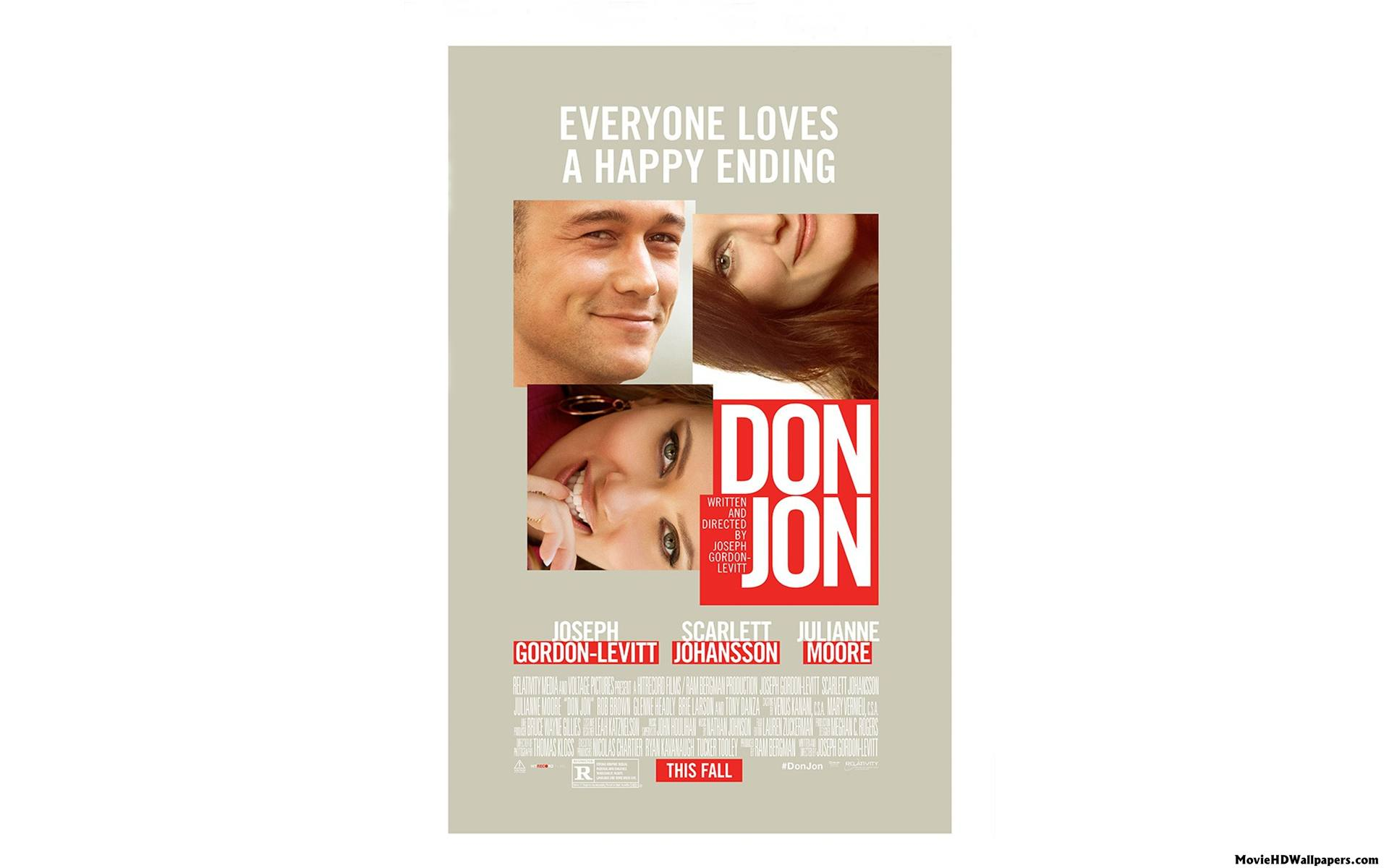 Don Jon HD Poster