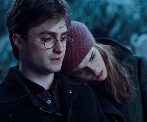 Harry Potter and the Deathly Hallows Part 1 - Harry and Hermione
