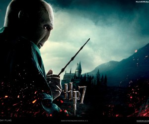 Harry Potter and the Deathly Hallows Part 1 - Voldermort Wallpaper