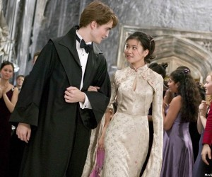 Harry Potter and the Goblet of Fire - Robert Pattinson and Katie Leung