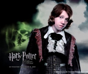 Harry Potter and the Goblet of Fire Ron - Rupert Grint