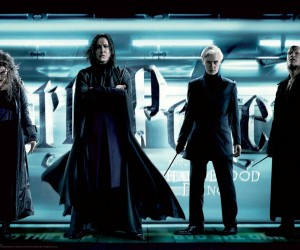 Harry Potter and the Half-Blood Prince - Snape, Bellatrix, Draco