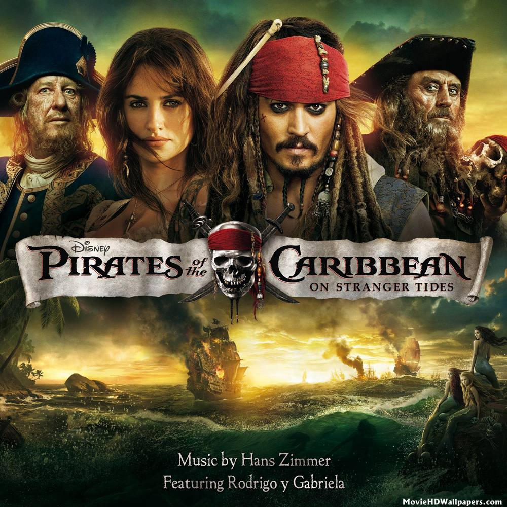 Pirates of the Caribbean On Stranger Tides Poster : Movie HD Wallpapers