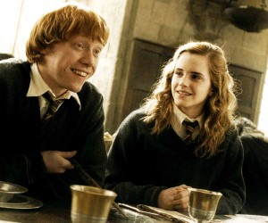Ron and Hermione in Half Blood Prince