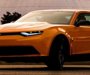 Bumblebee 2014 Camero - Transformers Age of Extinction
