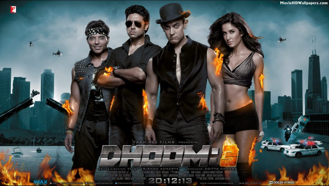Latest Star Cast Of Dhoom 3