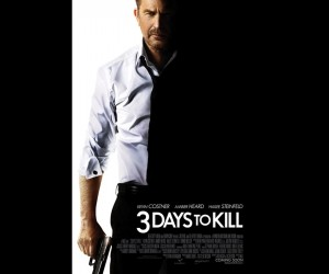3 Days to Kill 2014 Poster 300x250 3 Days to Kill (2014)