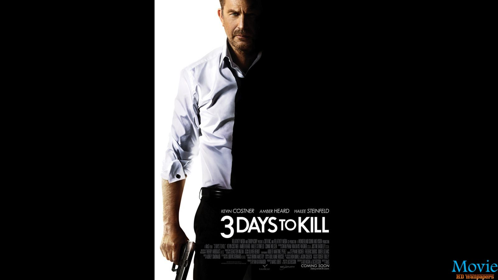 3 days to kill 2014 movie hd wallpapers