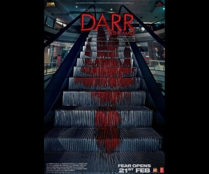 Darr at The Mall Bollywood Movie Poster