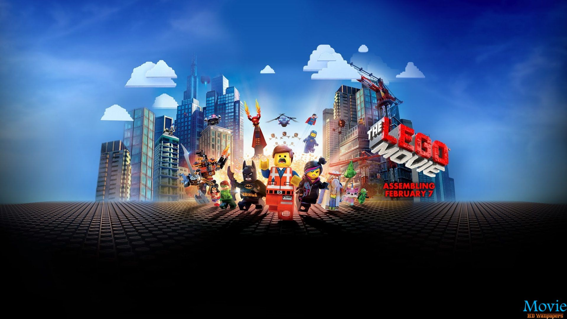 The lego movie 2014 movie hd wallpapers - Lego wallpaper ...