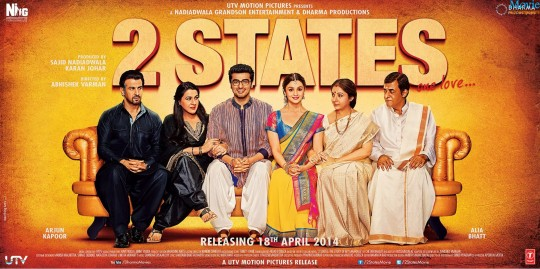 2 States 2014 Movie Poster