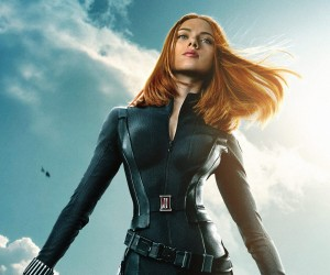 Captain America The Winter Soldier - Scarlett Johansson as Black Widow