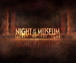 Night at the Museum Secret of the Tomb Logo