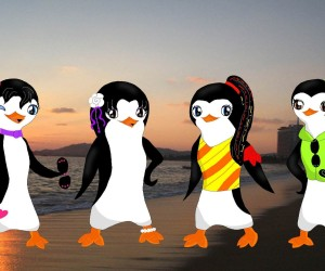 Penguins of Madagascar Girls Fan Art