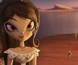 The Book of Life Movie Animated Girl