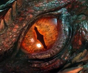The Hobbit The Battle of the Five Armies Dragon Eye